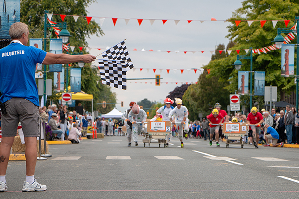 Bed Races on Beacon Race Day Image